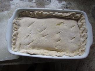 Chicken Pie Pre Oven