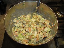 Chicken Salad Cooked