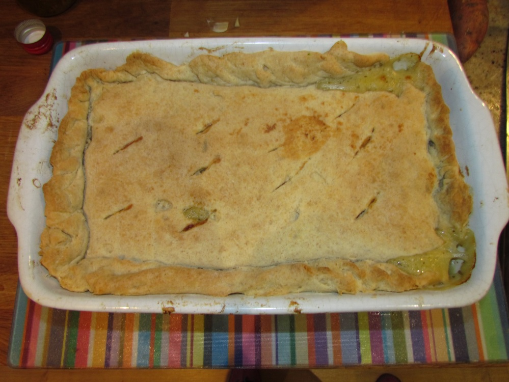 Cooked Chicken Pie