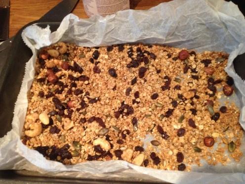 Granola Raisins