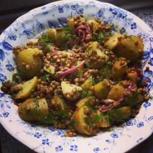 Lentil Potato Salad