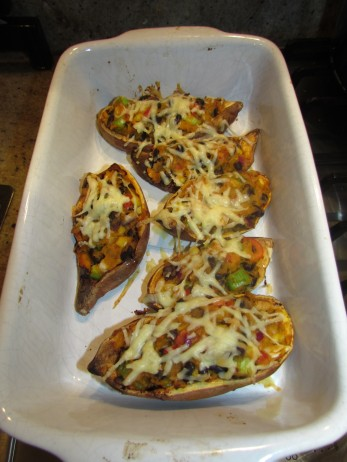 Sweet Potato Jackets Cheese