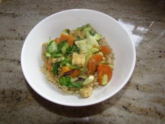 Vegetarian Green Curry