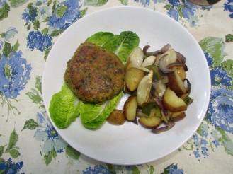Falafel On Plate