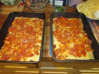 Lasagne Layers Veg