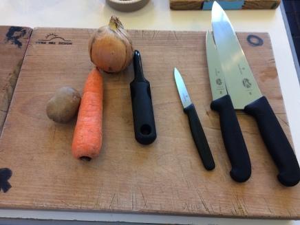 Chopping skills