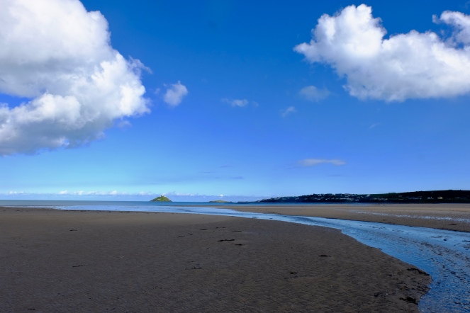 Ballycotton beach looking fine this evening