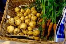 Did you know that dirty veg last longer than clean ones?